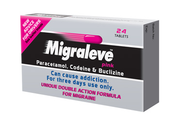 Migraleve Yellow 24 Tablets | pain relief | the online chemist