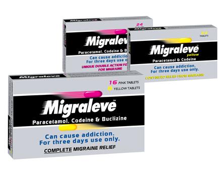 Migraleve Complete Migraine Relief Tablets 24 - £9.09 (inc VAT ...